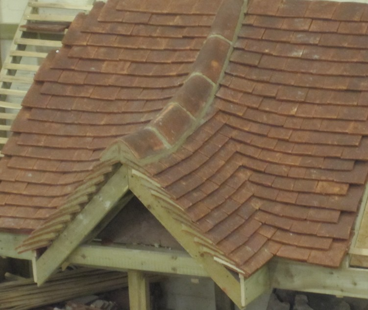 Plain Clay Tile Laced Valley South Coast Roof Training